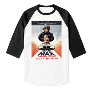 Mad Max Baseball 3/4 Sleeve T-Shirt