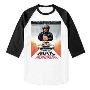 Mad Max Baseball 3/4 Sleeve T-Shirt