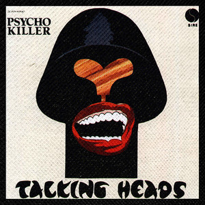 "Talking Heads - Psycho Killer 4x4"" Color Patch"
