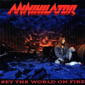 """Annihilator - Set The World On Fire 4x4"""" Color Patch"""
