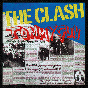 "The Clash - Tommygun 4x4"" Color Patch"