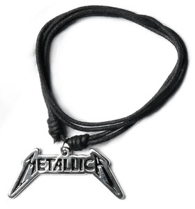 Metallica Logo Necklace