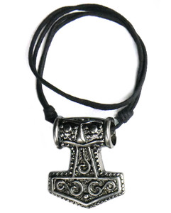 #3 Mjolnir Thick Necklace