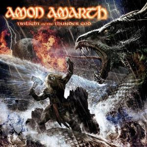 "Amon Amarth - Twilight of the Thunder God 4x4"" Color Patch"