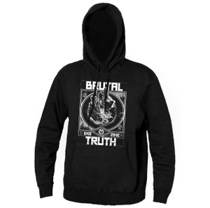Brutal Truth - End Time Hooded Sweatshirt
