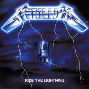 """Metallica - Ride The Lightning 4x4"""" Color Patch"""