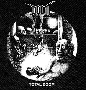 "Doom - Total Doom 4x4"" Printed Patch"