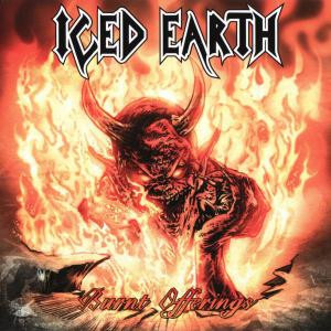 "Iced Earth - Burnt Offerings 4x4"" Color Patch"