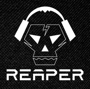 "Reaper - Babylon Killed The Music 4x4"" Printed Patch"
