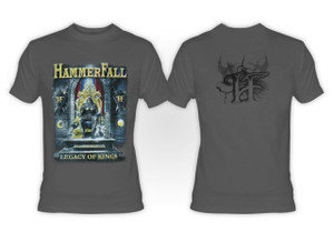 Hammerfall - Legacy of Kings Gray T-Shirt