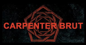 "Carpenter Brut Logo 5x2.7"" Color Patch"
