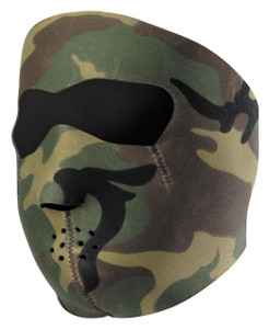 Camouflage Face Mask with Mesh Eye Cover