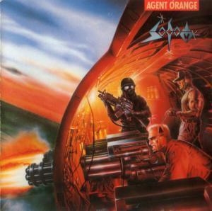 "Sodom - Agent Orange 4x4"" Color Patch"