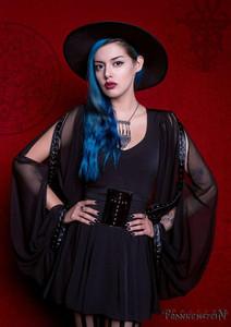 Dr. Frankenstein - Black Salem Witch Long Dress