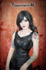 Dr. Frankenstein - Black Chains Mini Dress