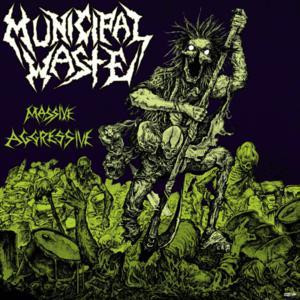 "Municipal Waste - Massive Aggressive 4x4"" Color Patch"