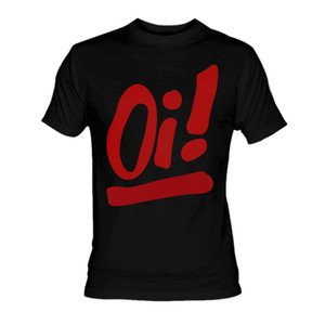 Oi!  Red Signal T-Shirt