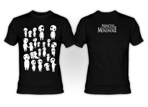 Princess Mononoke - Glow in the Dark Kodama T-Shirt