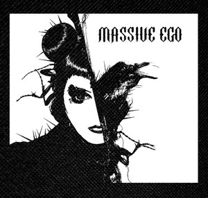 "Massive Ego - Noise in the Machine 4x4"" Printed Patch"