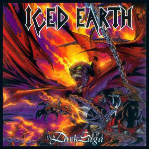 "Iced Earth - The Dark Saga 4x4"" Color Patch"