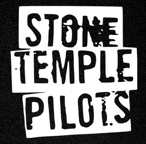 "Stone Temple Pilots Logo 4x4"" Printed Patch"