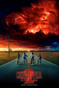 "Stranger Things Season 2 Storm 24x36"" Poster"