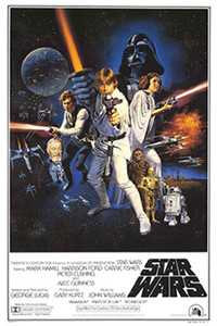 "Star Wars A New Hope 24x36"" Poster"