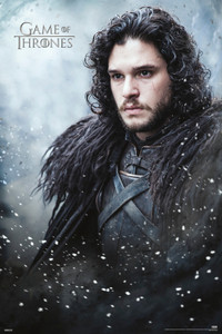 "Game of Thrones - Jon Snow 24x36"" Poster"
