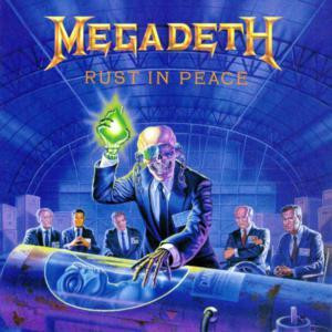 """Megadeth - Rust In Peace 4x4"""" Color Patch"""