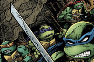 "Teenage Mutant Ninja Turtles Sewer Battle 18x12"" Poster"