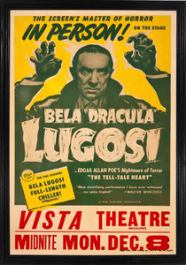 "Bela Lugosi in The Tell-Tale Heart 12x18"" Poster"
