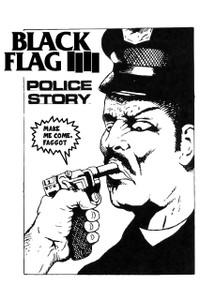 "Black Flag - Police Story 12x18"" Poster"