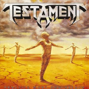 """Testament - Practice What You Preach 4x4"""" Color Patch"""