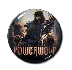 """Powerwolf - Blessed & Possessed 1"""" Pin"""