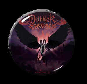 """Dethklok - Dethalbum III 1.5"""" Pin"""