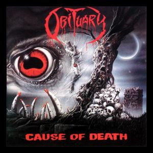 "Obituary - Cause Of Death 4x4"" Color Patch"