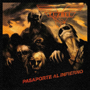 "Luzbel - Pasaporte Al Infierno 4x4"" Color Patch"