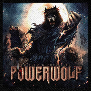 "Powerwolf - Blessed & Possessed 4x4"" Color Patch"