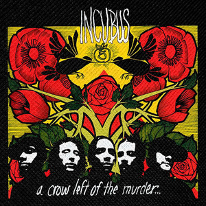 "Incubus - A Crow Left of the Murder 4x4"" Color Patch"