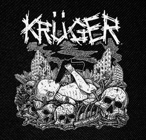 "Kruger Logo 4x4"" Printed Patch"