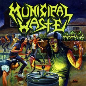 """Municipal Waste - The Art Of Partying 4x4"""" Color Patch"""