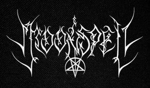 "Moonspell Logo 5x2.5"" Printed Patch"