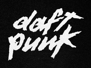 "Daft Punk Logo 4x2"" Printed Patch"