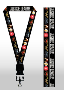 Justice League Logos Lanyard