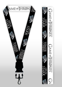 Game of Thrones - House Stark Lanyard