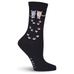 K. Bell - Women's Catwalk Crew Socks