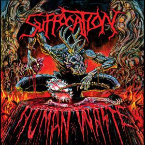 "Suffocation - Human Waste 4x4"" Color Patch"