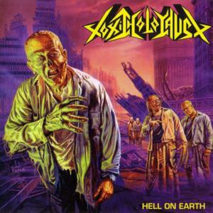 """Toxic Holocaust - Hell On Earth 4x4"""" Color Patch"""