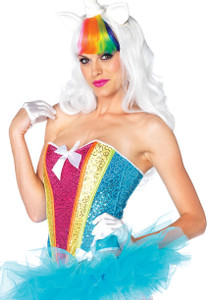 Leg Avenue - Sequin Rainbow Corset