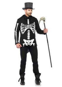Leg Avenue - Skeleton Tuxedo Jacket and Tie